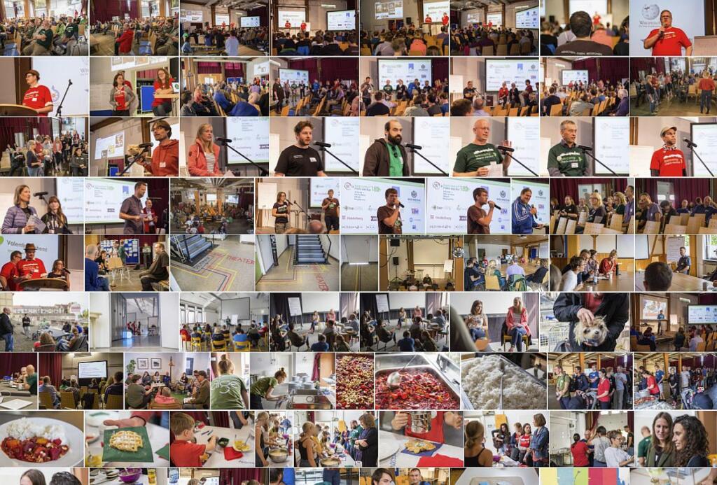 Blick auf das Fotoalbum des Barcamp Rhein-Neckar 2018