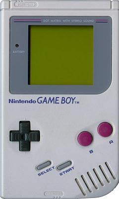 Foto eines Gameboy erster Generation