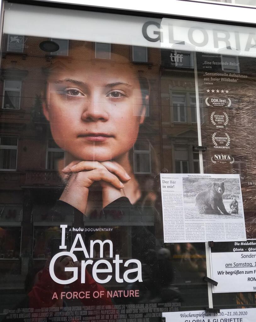 Filmplakat des Films I am Greta
