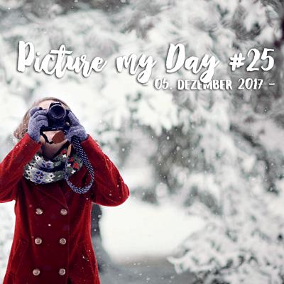 Eine Frau in rotem MAntel fotografiert. Hinter ihr ist eine verschneite Winterlandschaft zu sehen.