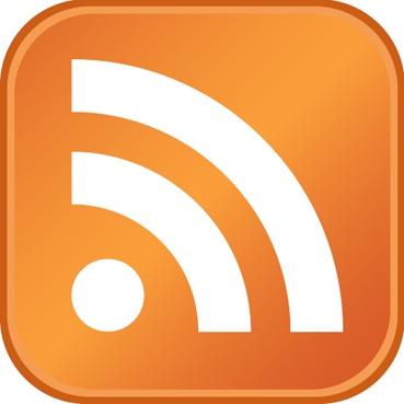 Logo eines RSS-Feeds